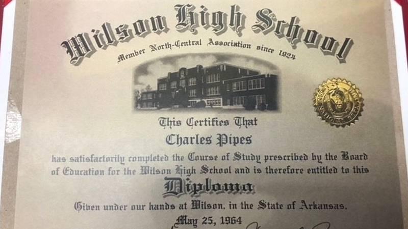 Vietnam Veteran to get high school diploma from Wilson High School.