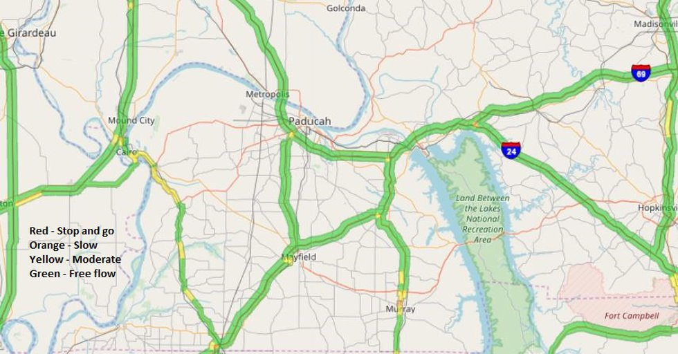 KY road conditions (Source: KYTC)
