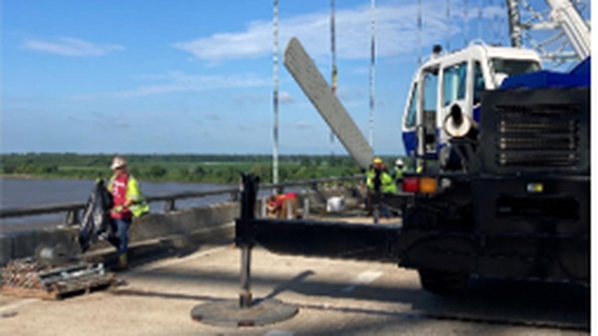 I-40 bridge update