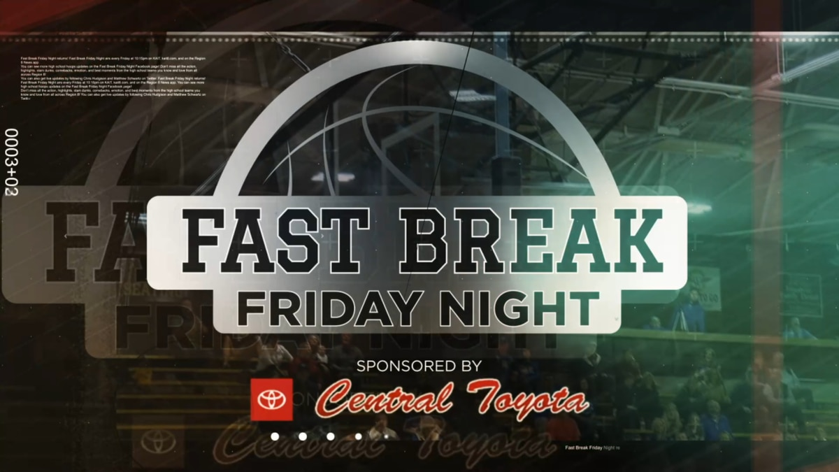 Fast Break Friday Night features high school basketball highlights, profiles, & more.
