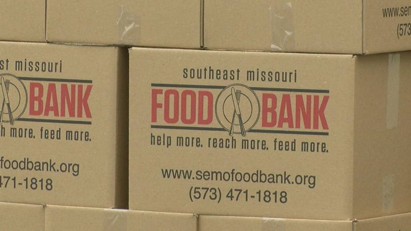 The Southeast Missouri Food Bank partnered with Lighthouse Church to hold a mobile food pantry...