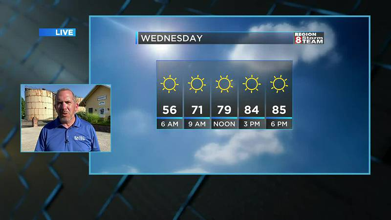 Ryan's Tuesday Evening Forecast (6/22)