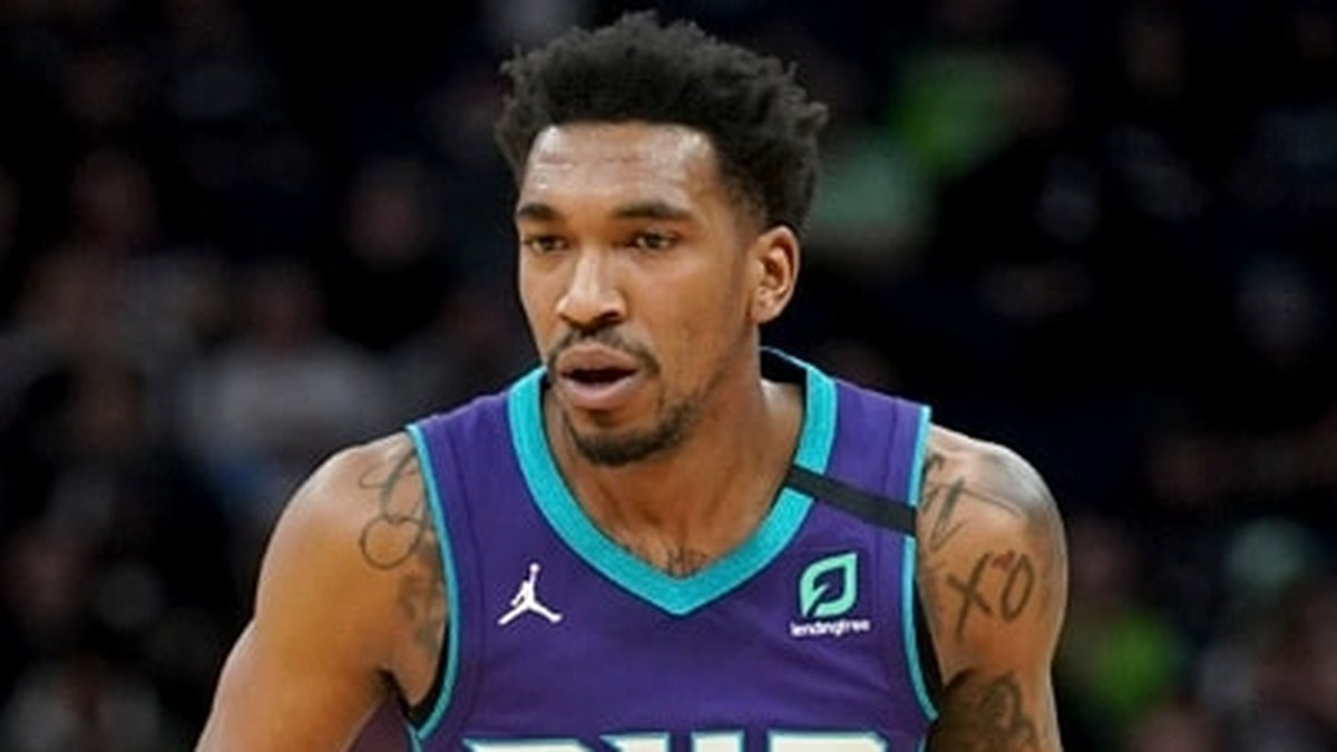 Lepanto native Malik Monk in action as the Hornets faced the Timberwolves