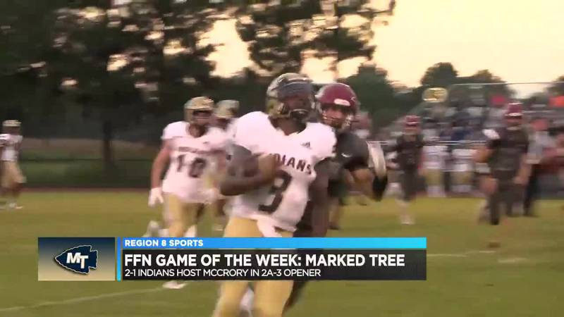 Indians host McCrory in FFN Game of the Week