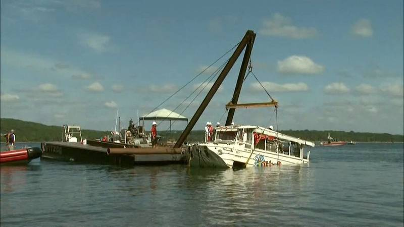 Duck boat accident in July of 2018