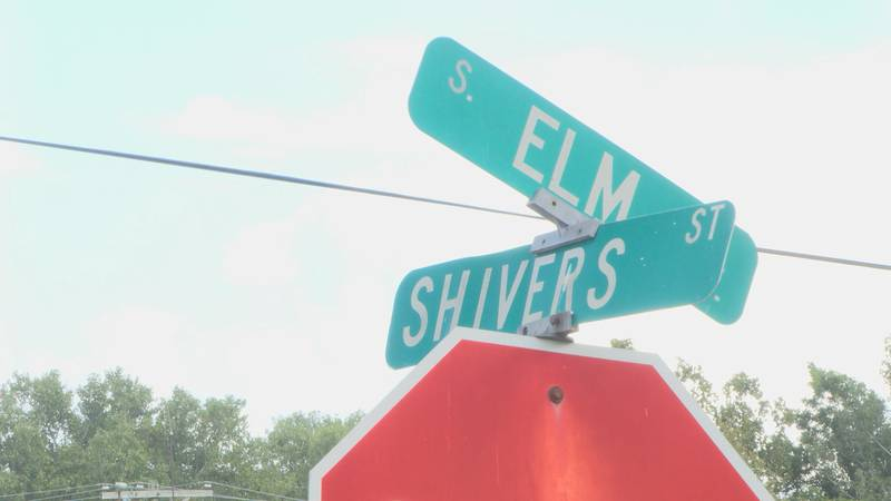 South Elm and Shivers Street in Blytheville