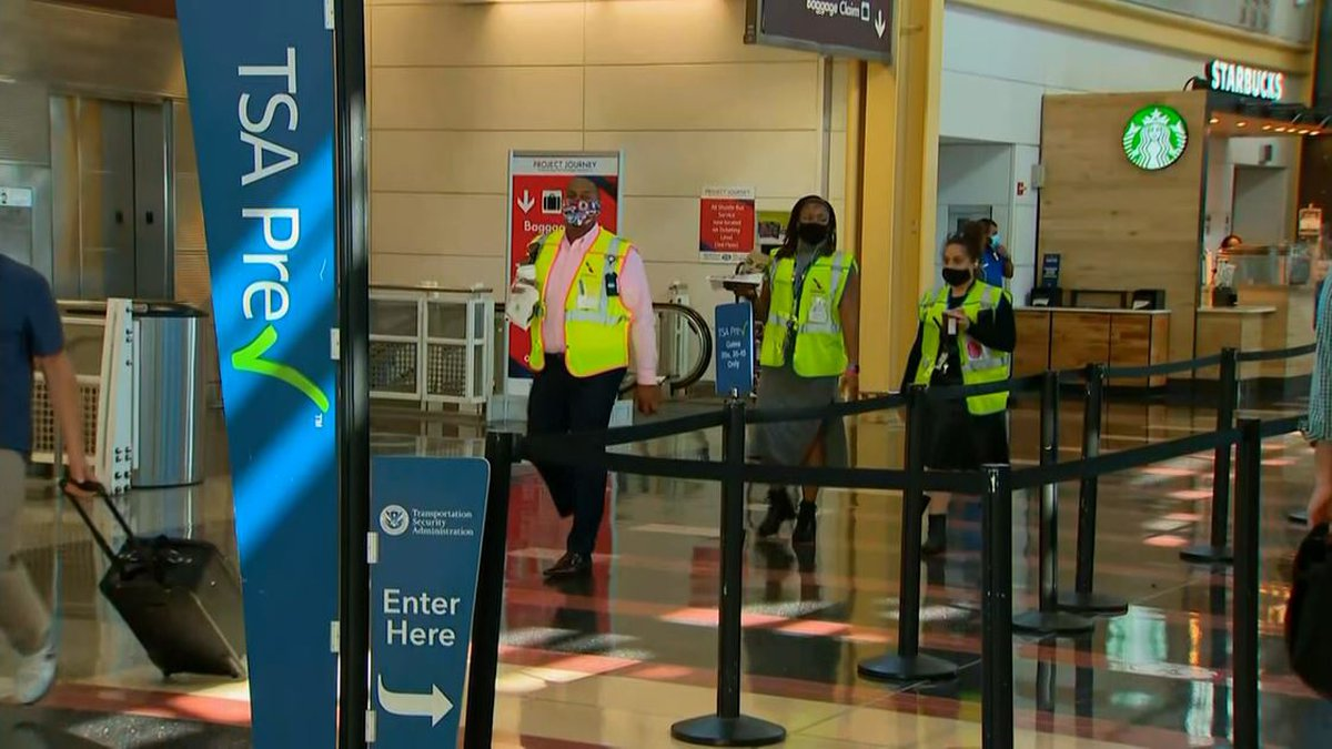 According to TSA numbers released Monday, more than four in every five employees who tested...