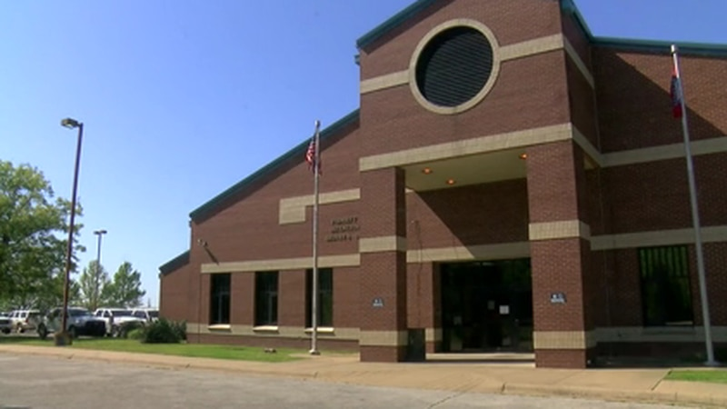 Poinsett County Jail was the center to Monday night's Quorum Court meeting.