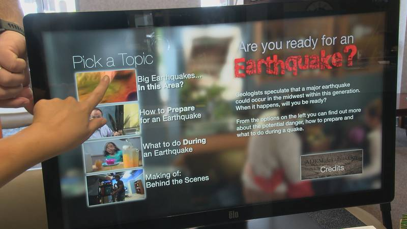 Dozens came out to learn about the science of earthquakes and how to keep stay safe during an...