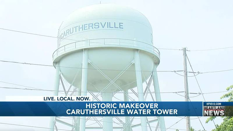Water tower in Caruthersville will get a 20 thousand dollar remodel.