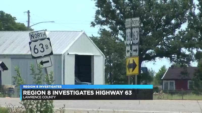Crashes on Highway 63 drawing state attention, safety work being done