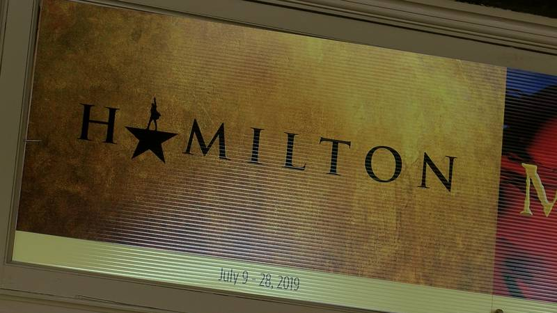 Hamilton will be in Memphis in July 2019