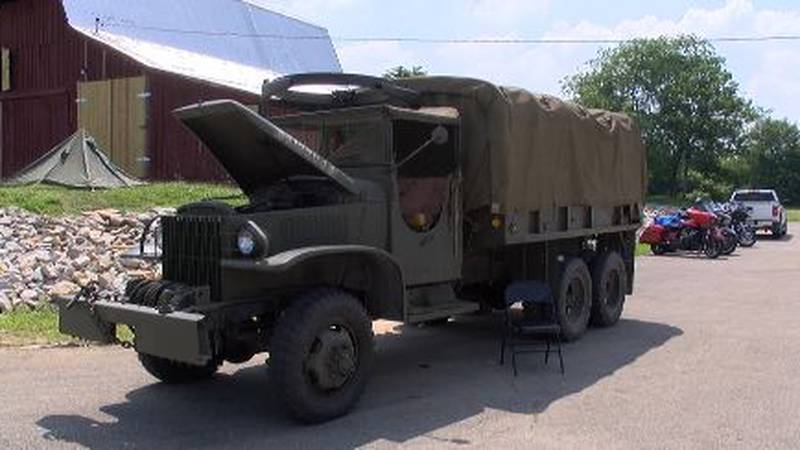 The Stars and Stripes Museum in Bloomfield is having a weekend of World War II reenactments.