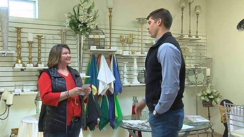 Elegant Party Rentals in Jonesboro took a big hit last year due to the pandemic, but Friday the...
