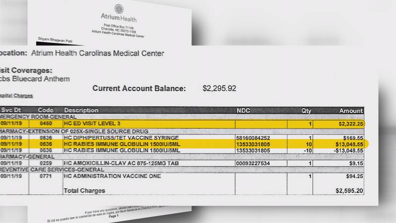 Cat scratch costs Charlotte man $2500 for walking through ER doors, warns others of high prices