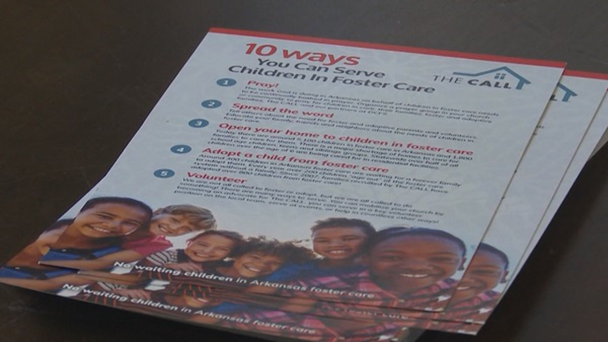 There are nearly 4,400 kids in foster care in Arkansas, with state officials and officials with...