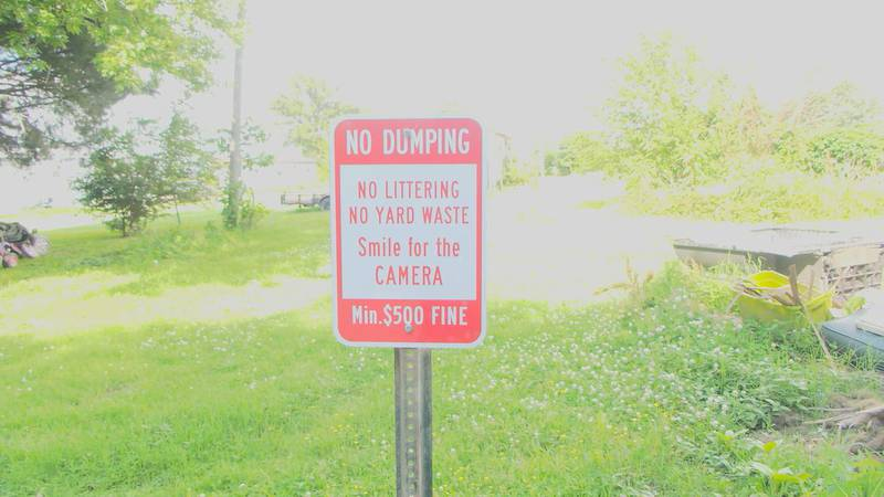 The city of Gosnell has resorted to placing a camera in one neighborhood known for illegal...