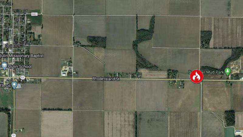 One person was declared dead after this fire in Butler County. (Source: Google Maps)