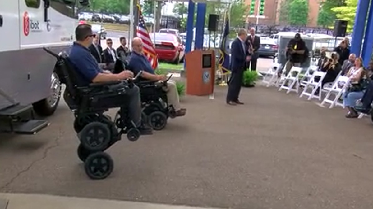 Memphis VA received donation to help veterans with spinal cord injuries