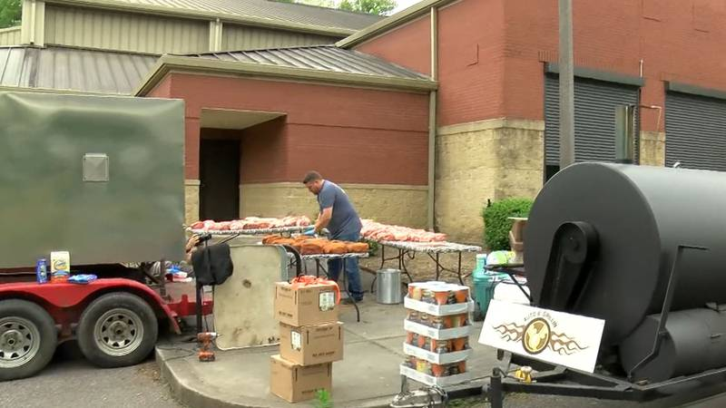 Memphis in May BBQ competitors feeds community
