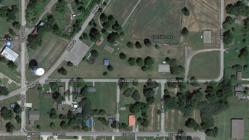 Police were called to Daeoc Road in Caruthersville, Mo. (Source: Google Maps)