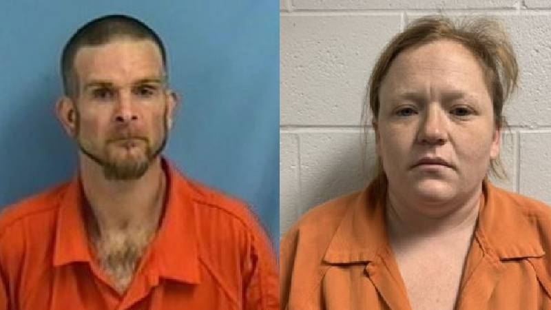 Cody Chastain, 34, of Beebe is charged with one count of rape. His wife, 34-year-old Angela...