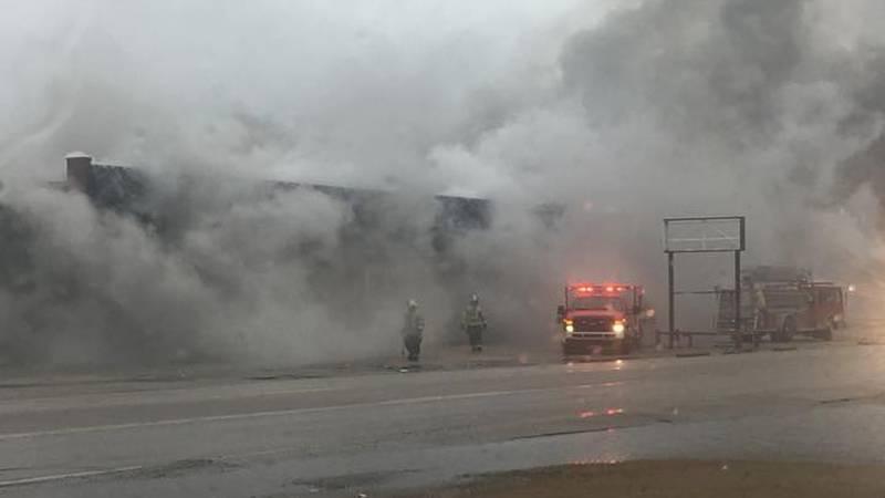 Blytheville warehouse fire under investigation