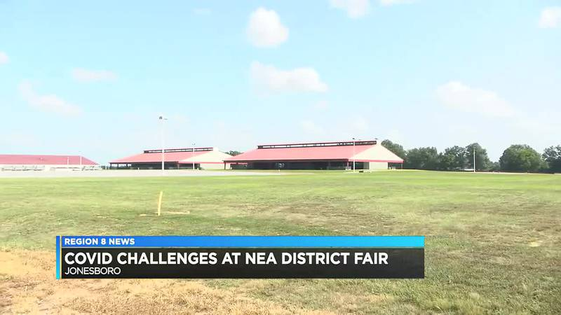 COVID Challenges at NEA District Fair