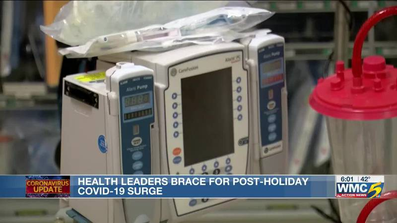 Health leaders brace for post-holiday COVID-19 surge