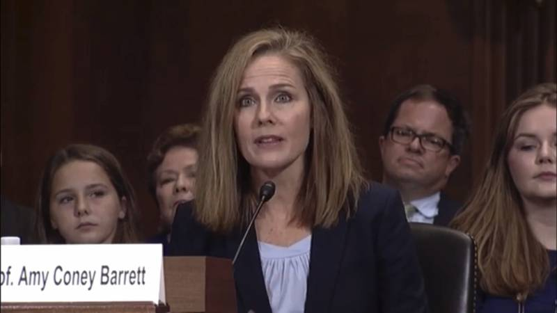 Amy Coney Barrett, who graduated from Rhodes in 1994, is currently a judge on the U.S. Court of...