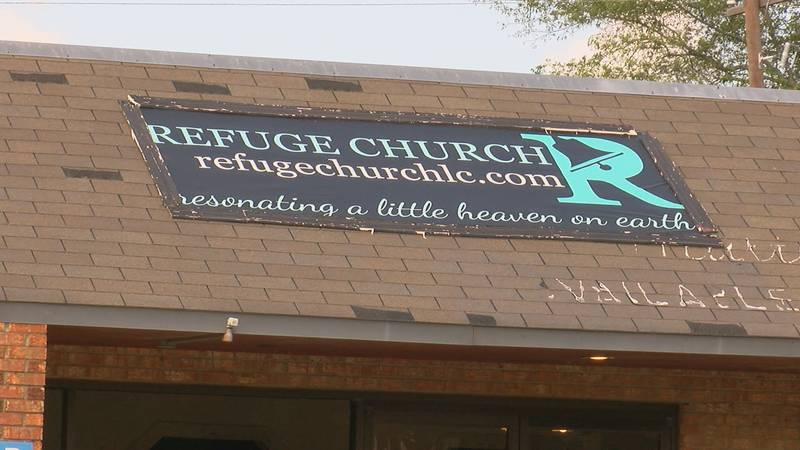 Refuge Church is now temporarily placed in a plaza in Lake City.