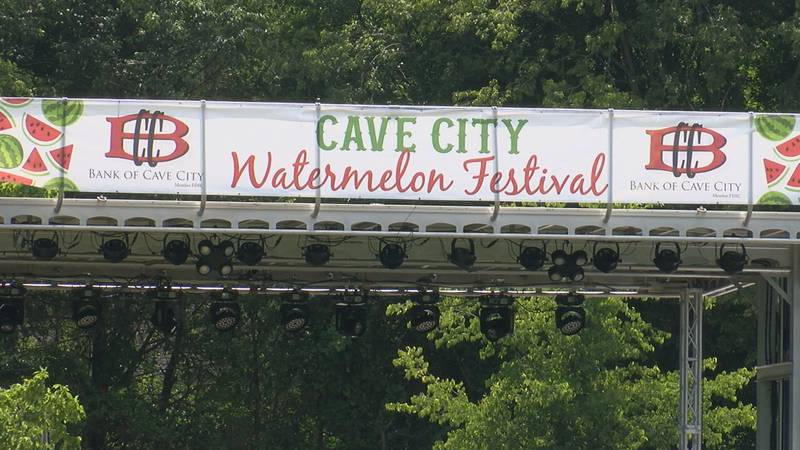 Cave City Watermelon Festival main stage