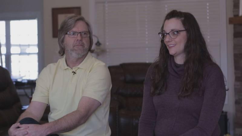 Ben and Diane Bizzle recalls surviving March 28, 2020 tornado in Bridger Place home.