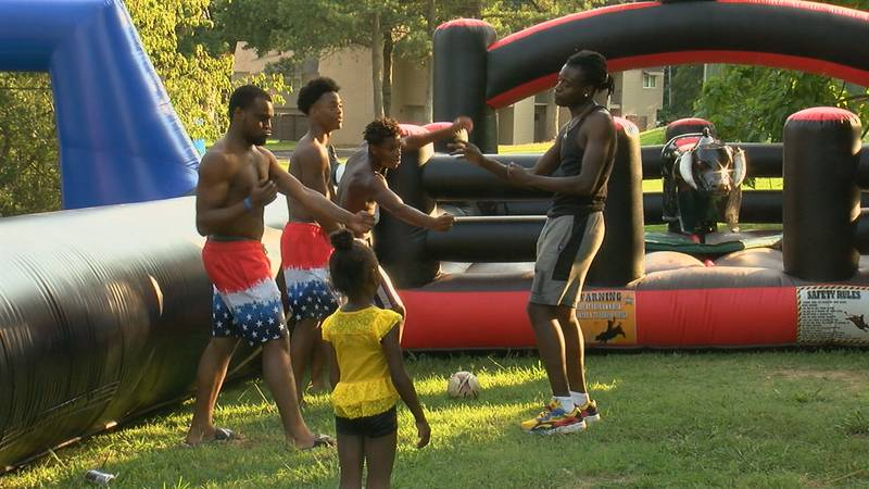 The celebration was held by First Presbyterian Church off Southwest Drive.