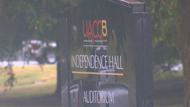 UACCB Independence Hall sign