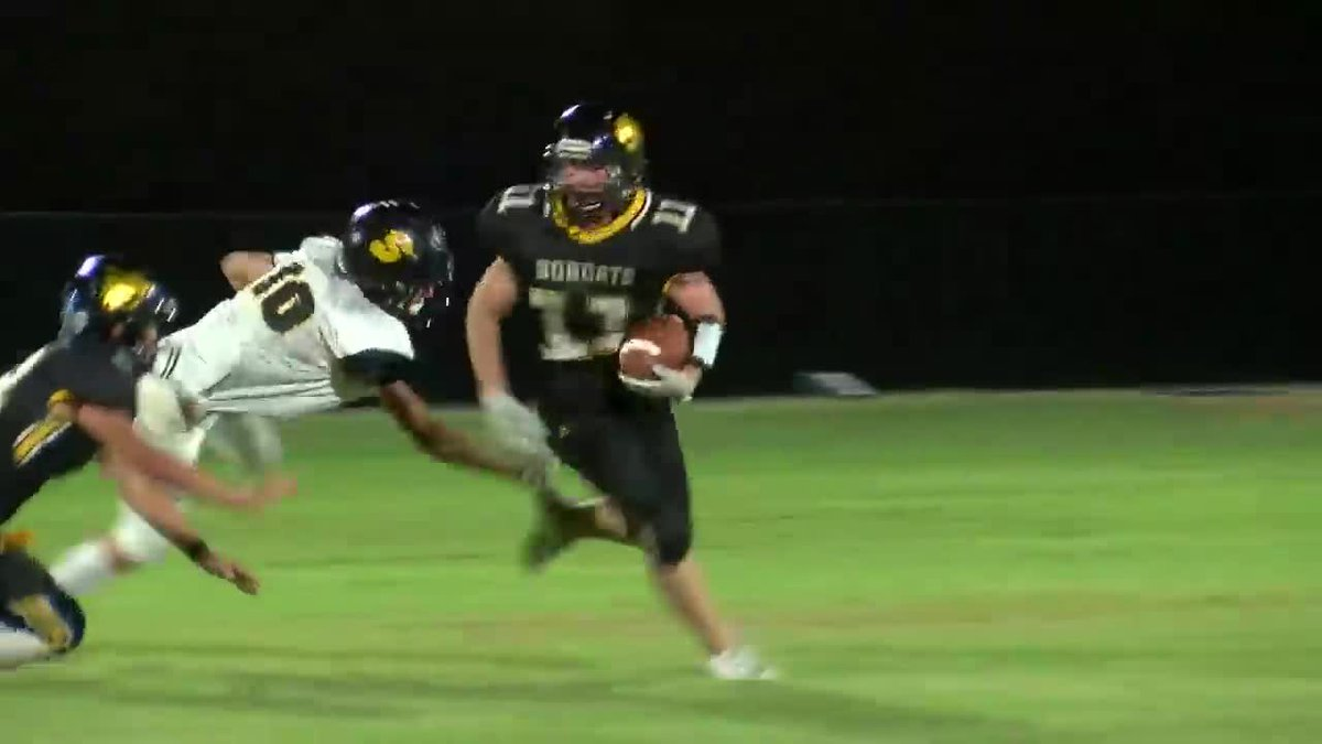 Corning wins the Yarnell's Sweetest Play of the Week (9/18/20)