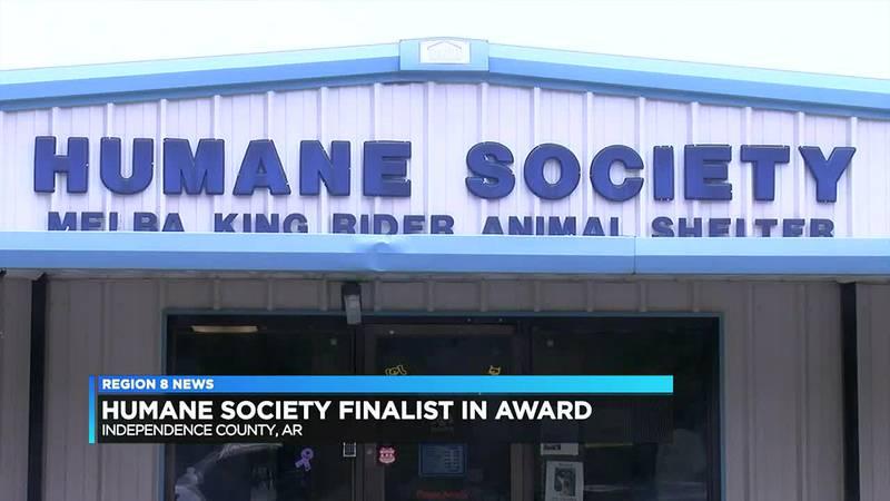 Humane Society Finalist in Award