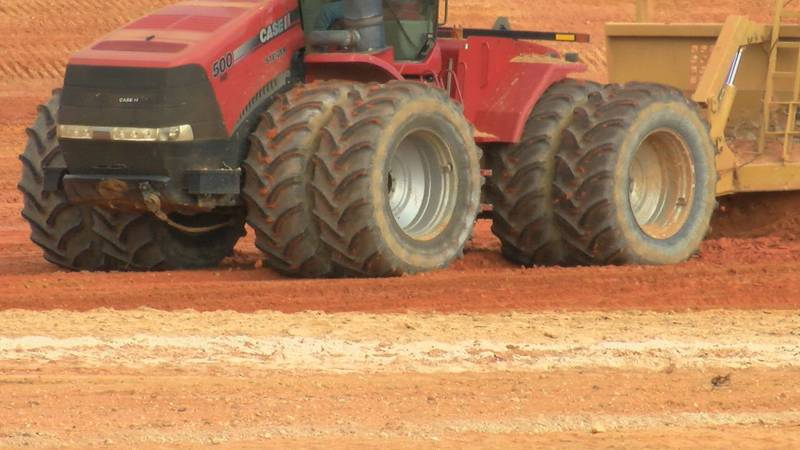 Dirt moved for new planned development
