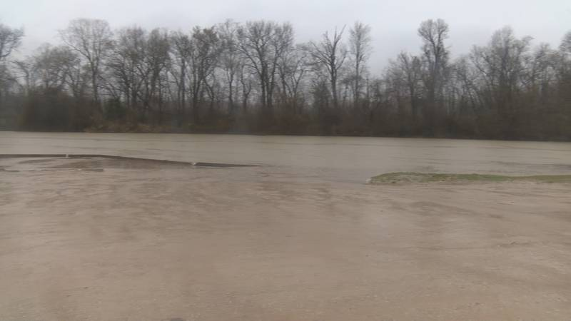 County officials watch for flooding as storm continues