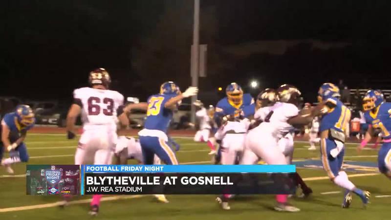 Blytheville wins, 16-14.