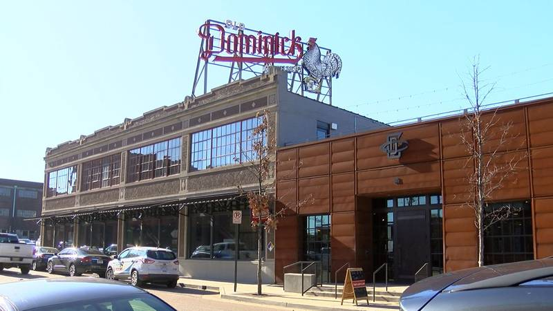 Old Dominick Distillery in downtown Memphis