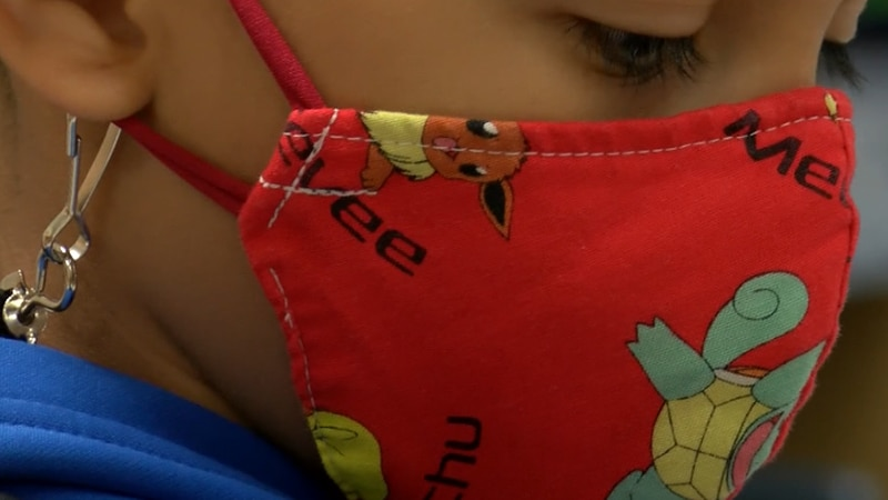 Parents split on new guidance for wearing masks in schools