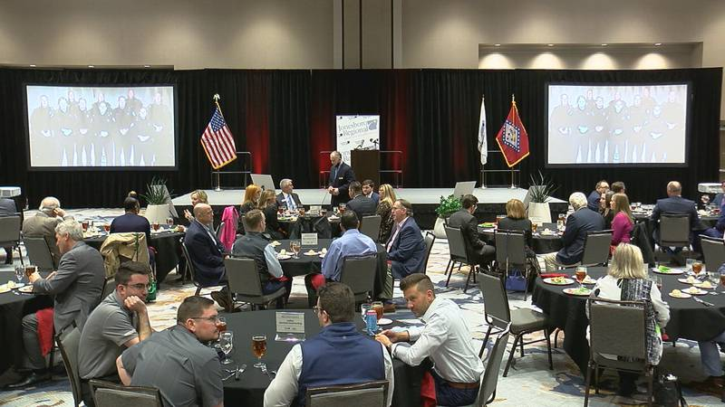 Two big announcements were made at Thursday's State of the City address in Jonesboro.