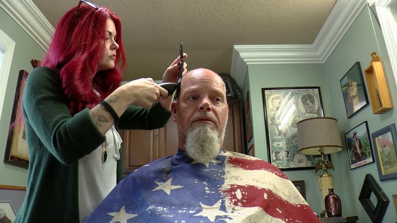 Local barber's random act of kindness changes man's life