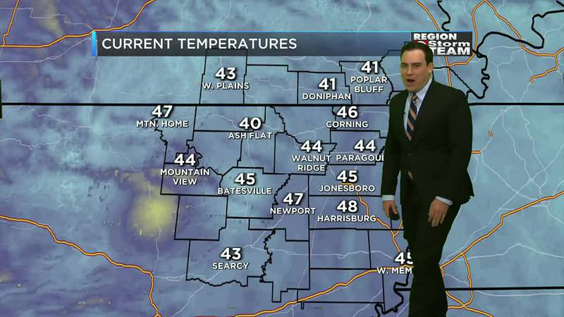 A chilly start to the morning.