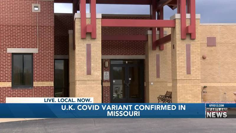 Mo. DHSS is reporting state's first confirmed case of B.1.1.7 COVID-19 variant