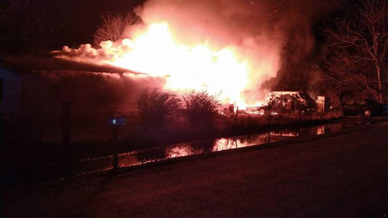 The home was a total loss. (Source: Portageville Fire and Rescue)