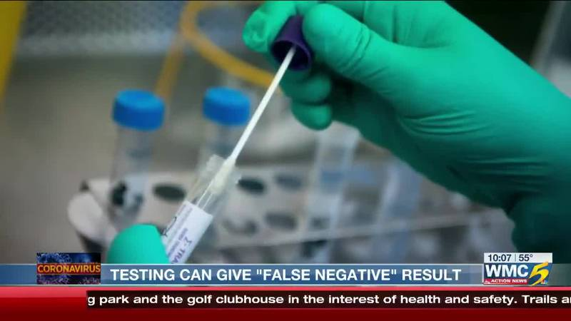"""COVID-19 Testing Can Give """"False Negative"""" Results"""