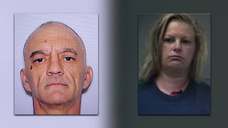 Authorities are looking for Jason Lee Stockstill, 49, and Heather Dawn Scallion, 38, in the...