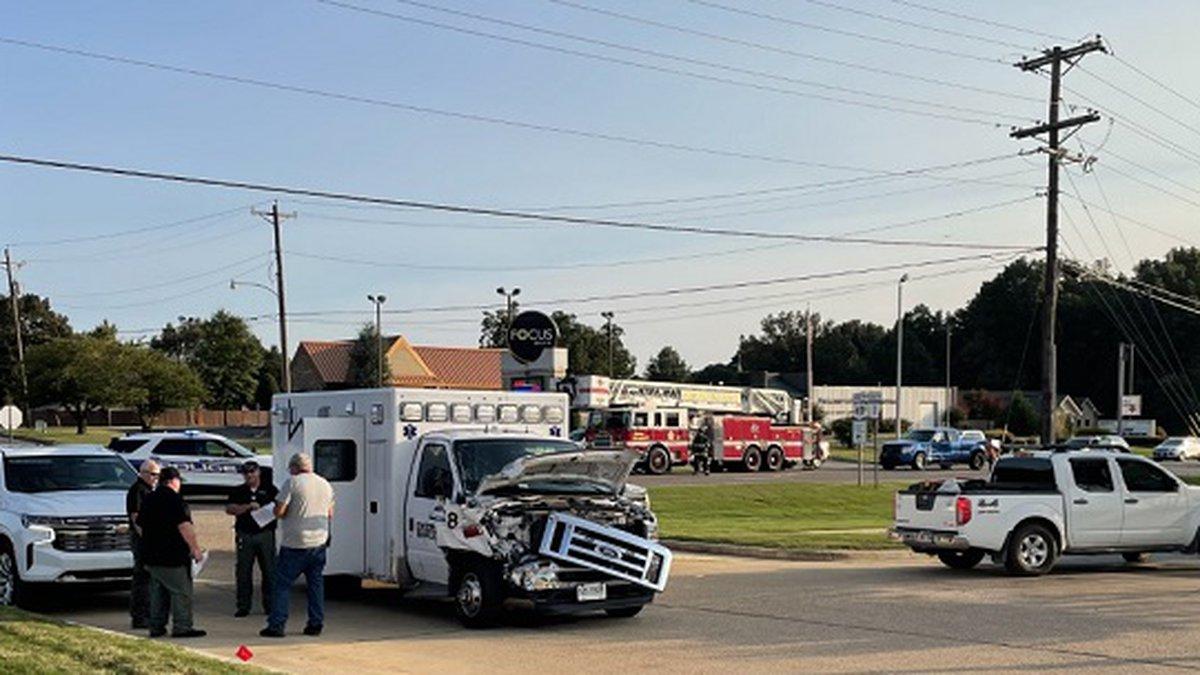 Jonesboro police responded Thursday to a crash on Johnson Avenue and Old Greensboro Road.
